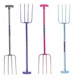 4 Prong Manure Fork T Handle Tubtrugs