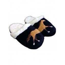 Horse Slippers In A Gift Box