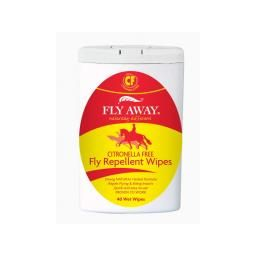 FLY AWAY CITRONELLA FREE - Fly repellent wet wipes 40W