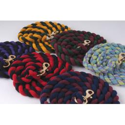 Standard Cotton Lead Rope