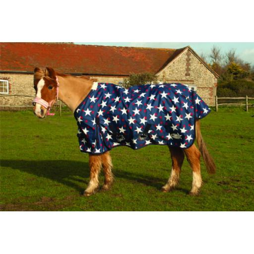 Rhinegold Small Pony/Foal Star Torrent Outdoor Rug