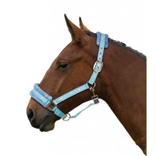 Pony Fur Head Collar