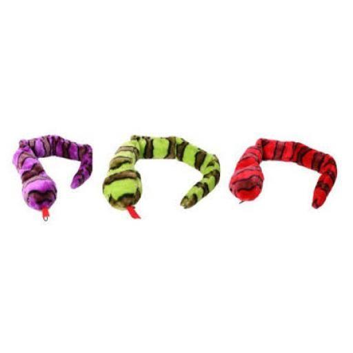 Plush Snake Dog Toy - 70cm