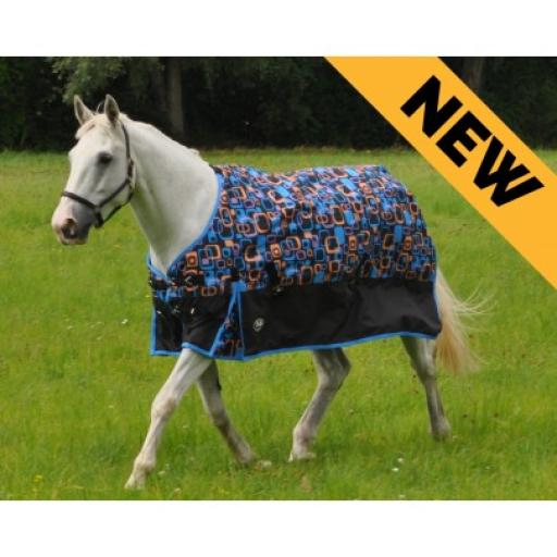 Gallop light weight Retro turnout rug