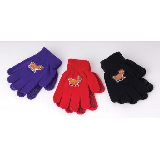 Harlequin Childrens Pony Design Magic Gloves