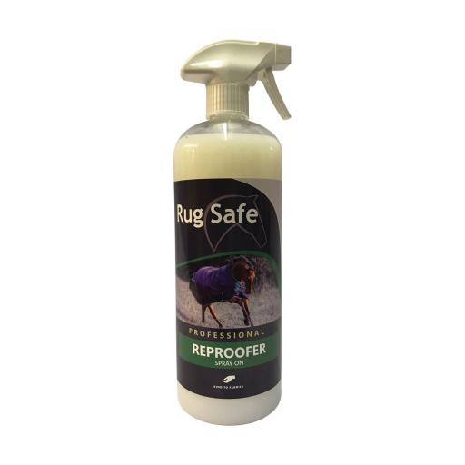 Rug safe spray on water repellent